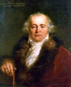 Julian Ursyn Niemcewicz - obraz pędzla Antoniego Brodowskiego z 1820